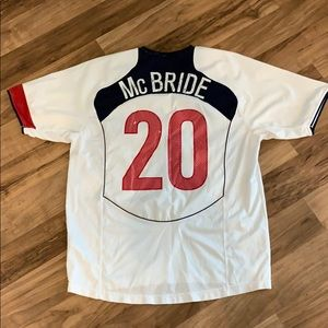 Nike USA soccer World Cup Jersey Brian McBride